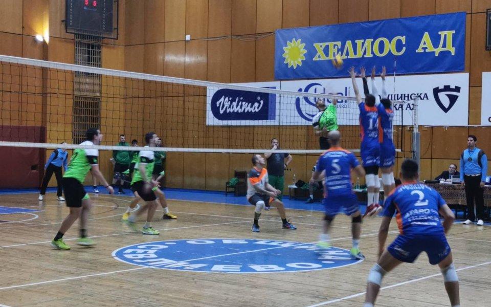 Виктория Волей (Пловдив) записа първата си победа след подновяването на