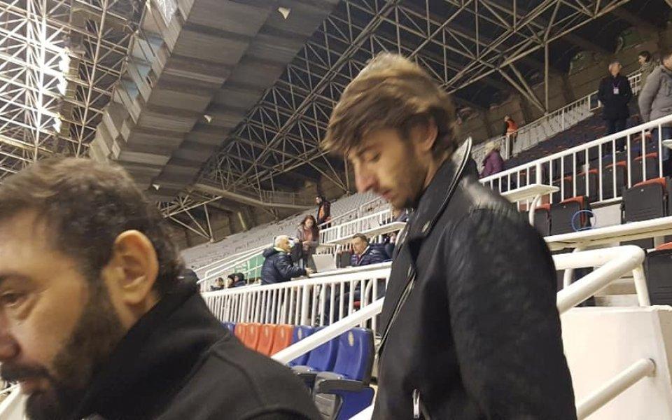 Балъков: Смятах, че Кристиан Димитров ще премине в Левски