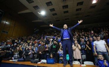 Левски Лукойл се завръща пред собствена публика след 237 дни