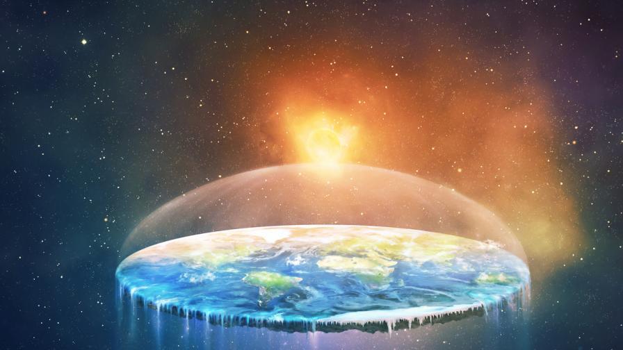 <p>Истината за <strong>плоската Земя</strong></p>