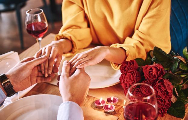 Разходка и романтична вечеря вкъщи