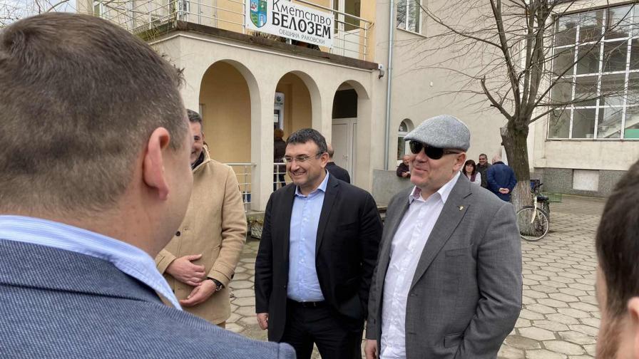 Младен Маринов и Иван Гешев