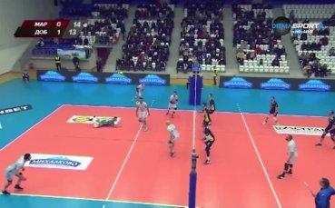Репортажи от мачовете от 14-ия и 15-ия кръг на волейболната Суперлига