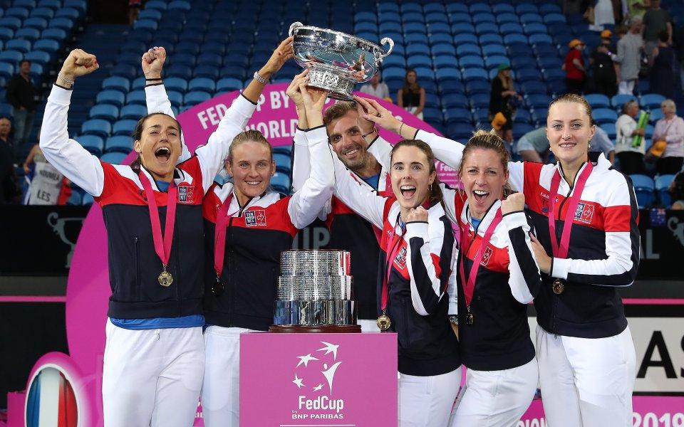 """Защитаващият титлата си тим на Франция попадна в група """"А"""""""