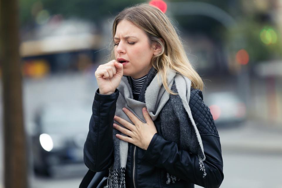 грип вирус кашлица болест хрема