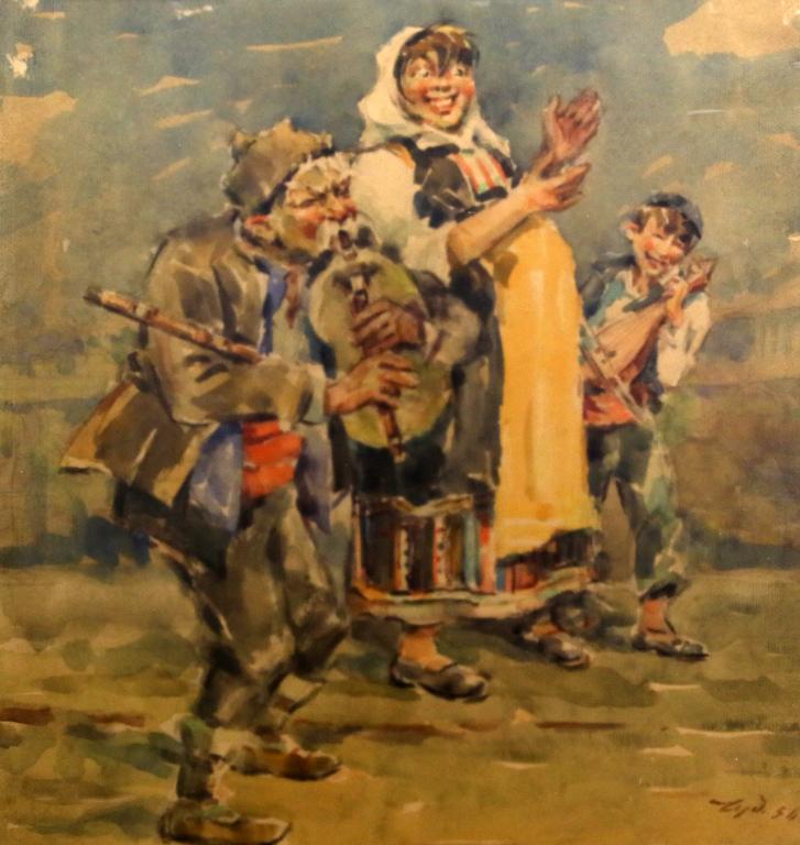 <p>Веселото семейство 1956 г.</p>