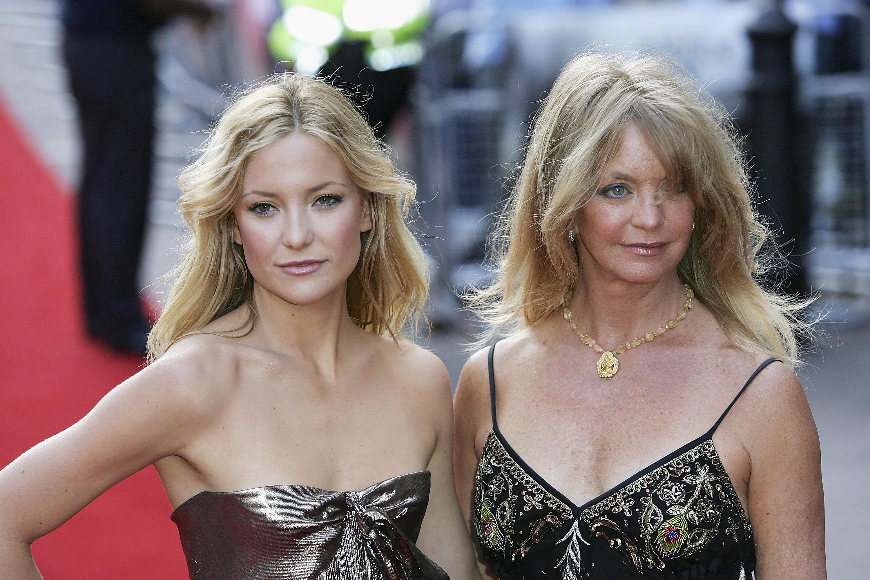 <p>Голди Хоун и дъщеря ѝ Кейт Хъдсън</p>