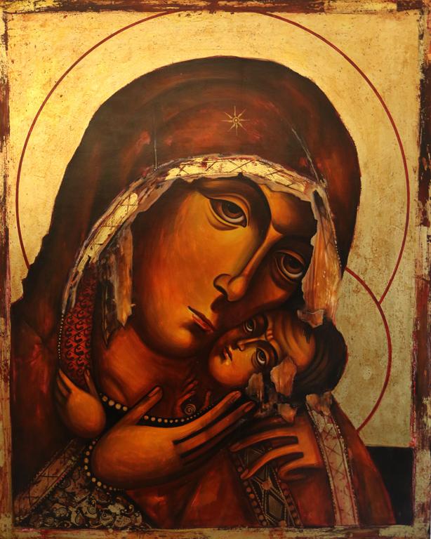 """Ралица Бурова, """"Бачковска Богородица"""""""