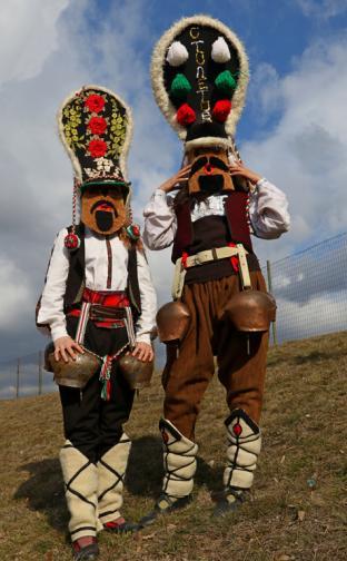 кукер кукери Национален фестивал на маскарадните игри На гости у