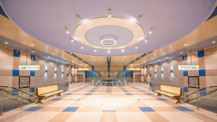 Вижте как изглеждат отвътре новите метростанции (СНИМКИ)