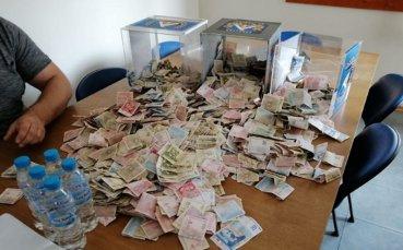 Започна голямото броене на пари в Левски
