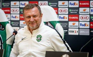 Върба: Ще дадем най-доброто, за да победим ЦСКА