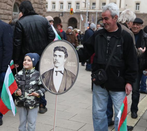 Шествие румен радев пътя на безсмъртието памет Васил Левски