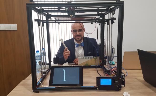 Български лекар създава 3D импланти за хора и животни