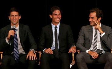 Федерер, Надал и Джокович с общ чат в социалните мрежи