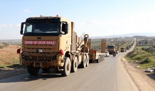Война в Сирия, руски удари, загинали турски войници