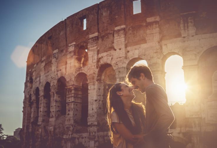 Рим двойка любов щастие