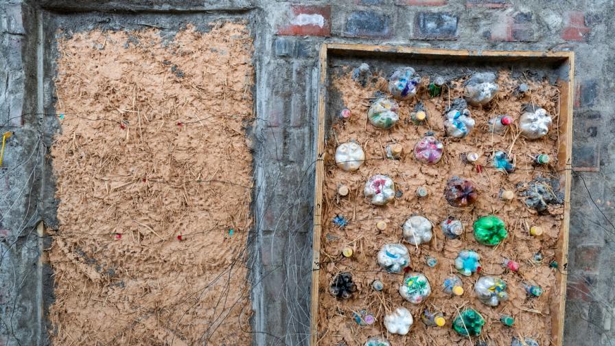 Къщите от пластмасови бутилки