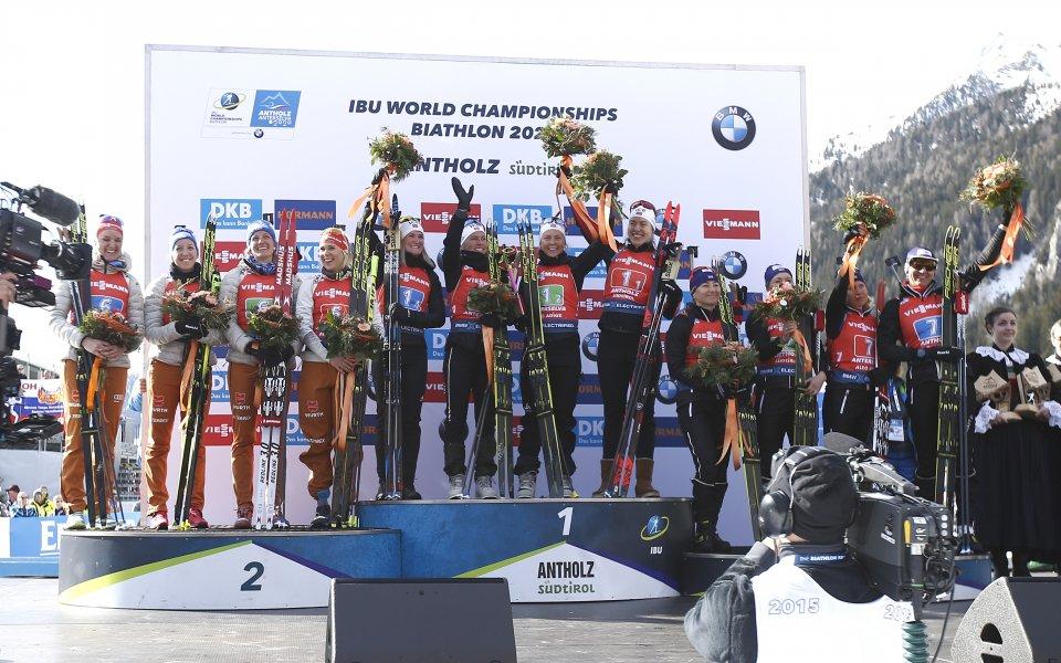 Норвегия триумфира в щафетата, българките останаха 20-и