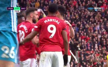 Манчестър Юнайтед ужили за трети път стършелите