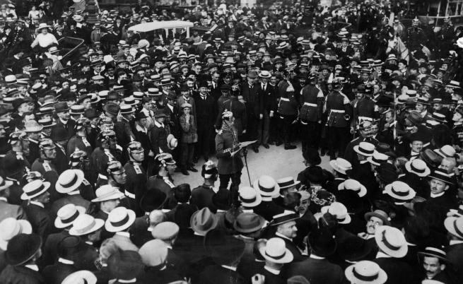 Мобилизацията за Първата световна война, Германия, август, 1914 г.