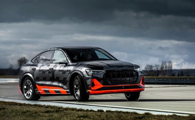 Трети електромотор за Audi e-tron за повече мощ и динамика