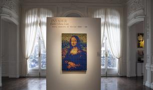 Мона Лиза от кубчета Рубик беше продадена на рекордна цена