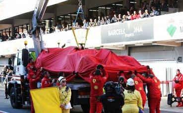 Ферари разкри причините за проблемите с мотора