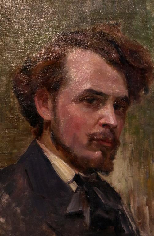 <p>Портрет на млад мъж - автопортрет, 1911 г.</p>
