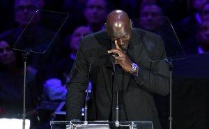 Майкъл Джордан разплака милиони с речта си за Коби