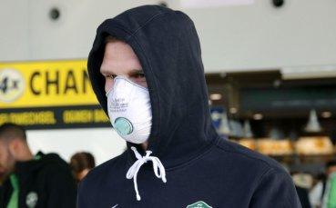 Крути мерки: Вижте как пристигна Лудогорец в Милано