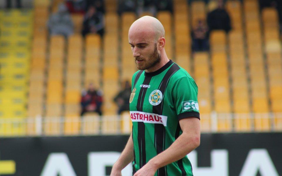 27-годишният Ерик Почански е част от Нефтохимик от септември 2019