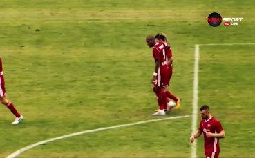 Рубен Пинто стана част от историята на ЦСКА