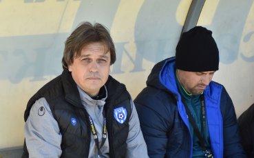 Петър Костадинов: Извадихме късмет, измъкнахме една точка