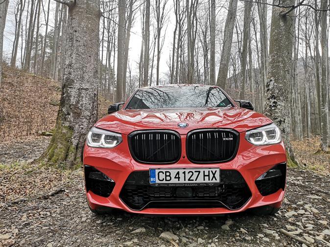 BMW X4 M Competition галерия