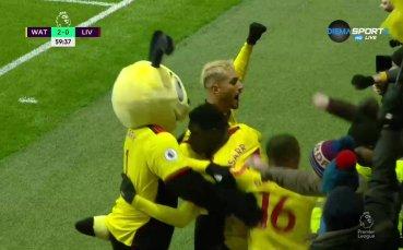 Уотфорд притисна Ливърпул с втори гол