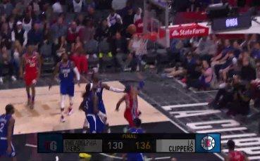 ЛеБрон отново води ЛА Лейкърс към победа, най-интересното от нощта в НБА
