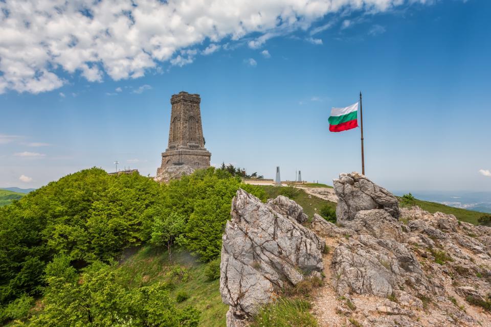 България знаме Шипка