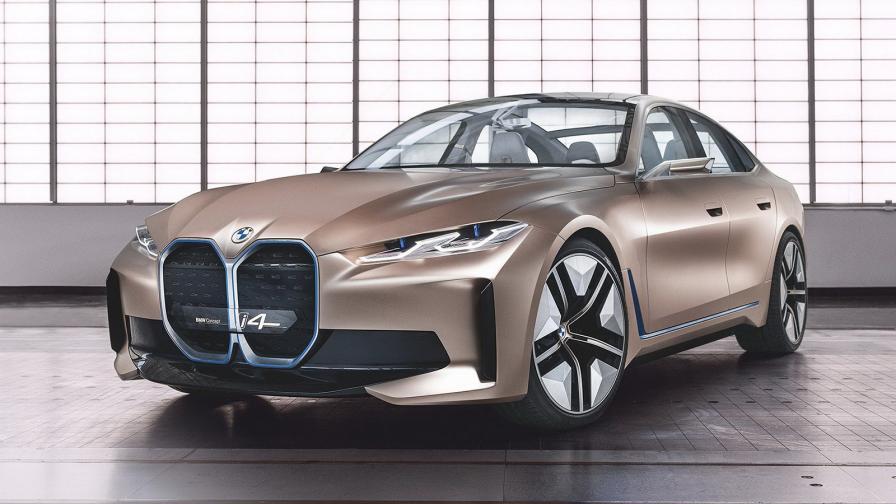 <p>Електрическото BMW i4 ще е с 530 к.с. и 600 км пробег</p>