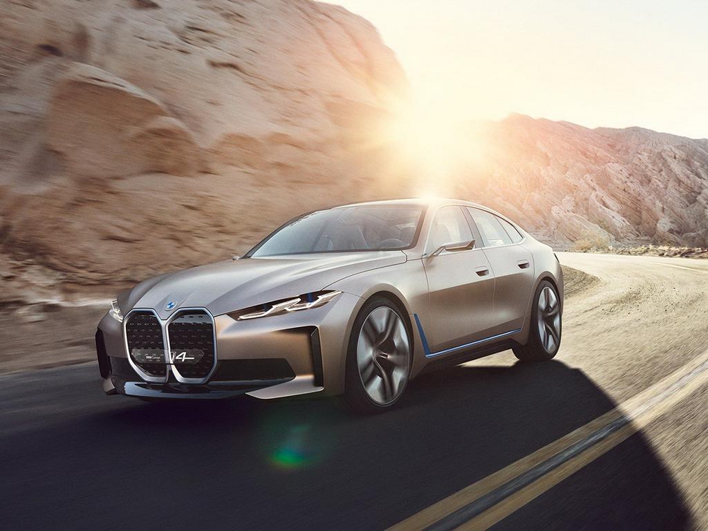 <p>BMW i4 Concept</p>