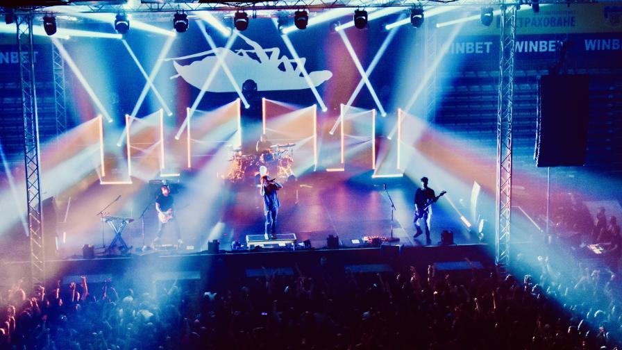 Papa Roach разтърсиха хиляди българи в София