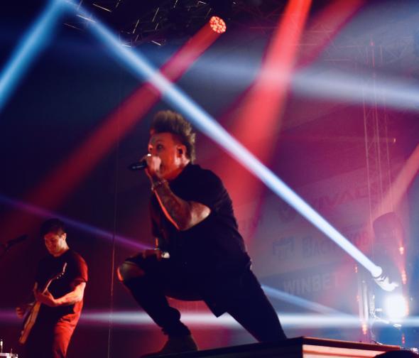 Papa Roach концерт България Универсиада