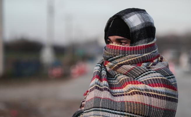 Студ, глад, безпомощност...  Бежанците на турско-гръцката граница