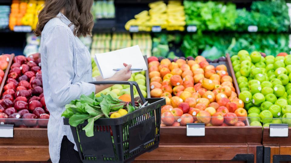 пазаруване супермаркет