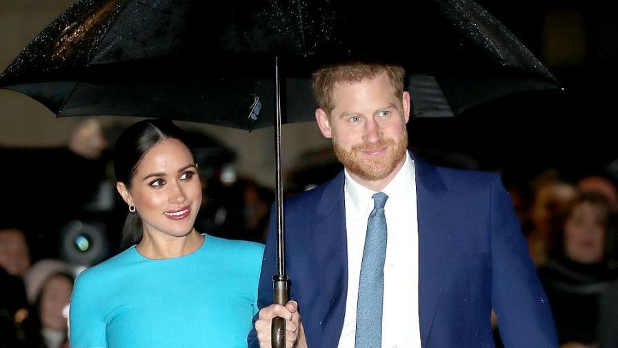 Принц Хари и Меган