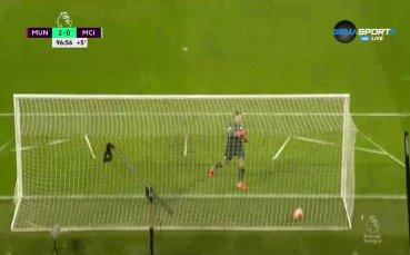 Нова кошмарна грешка на Едерсон и нов гол за Юнайтед