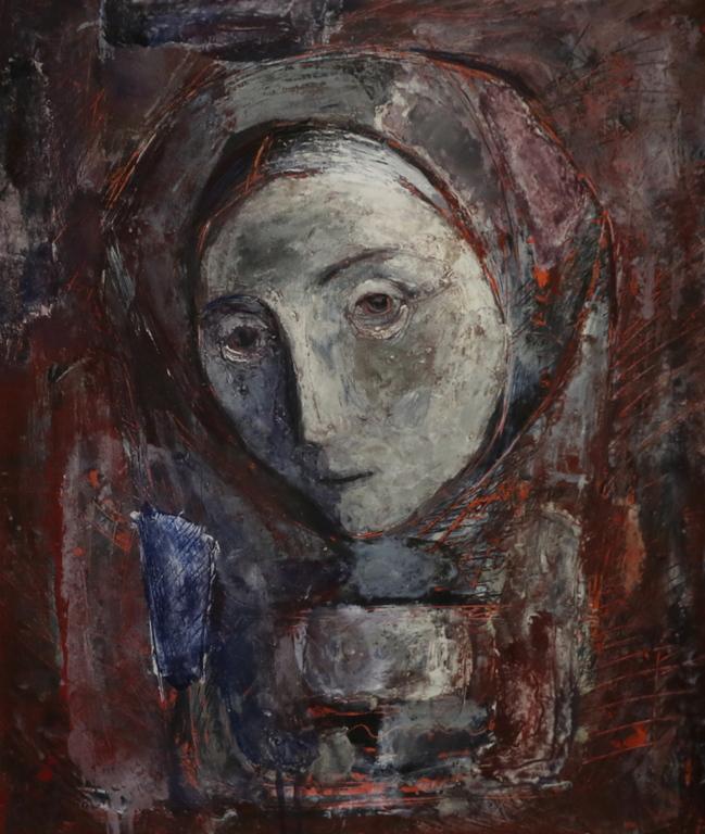 <p>Светлин Русев</p>  <p>Майка, 70-те г. на ХХ в. маслени бои, фазер</p>