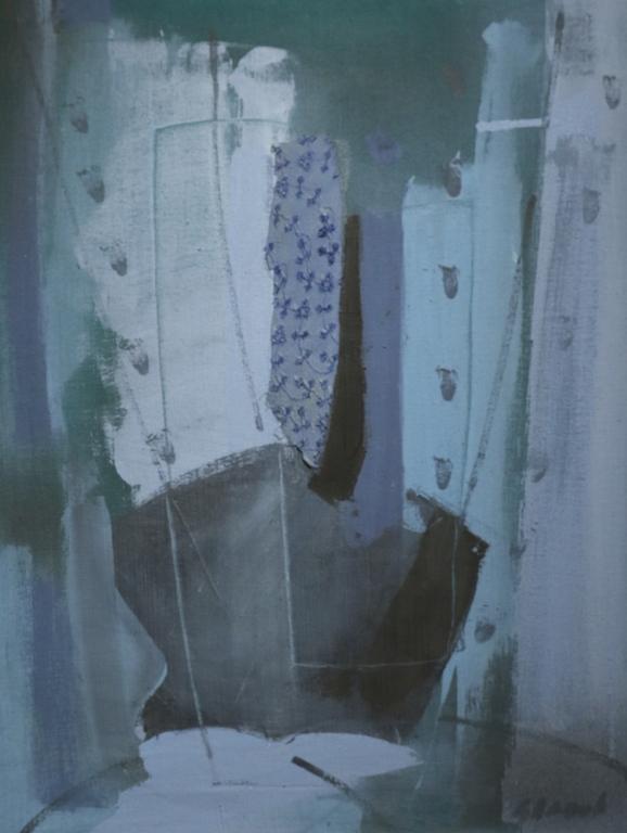 <p>Цанко Панов (1950 &ndash; 2003)</p>  <p>Хармония, 80-те г. на ХХ в. маслени бои, текстил, платно</p>