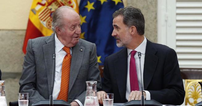 Свят Корупционен скандал, испанският крал Фелипе се отказа от наследство