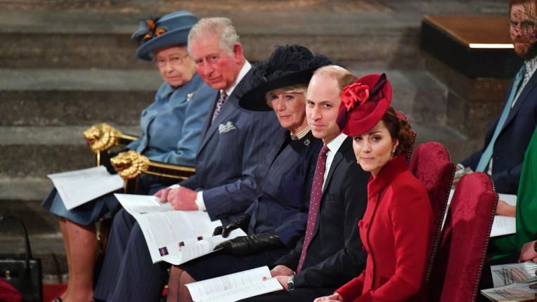 кралско семейство Елизабет Чарлз Камила Уилям Кейт